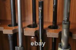 Antique Glass Door Display Cabinet for Most 52 Rifle & Double Barreled Shotguns