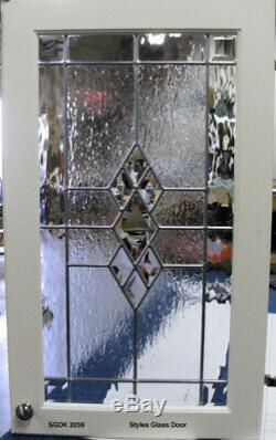 Bevels & Art Glass inserts for New & Existing Cabinet kitchen Doors SGDK 20592