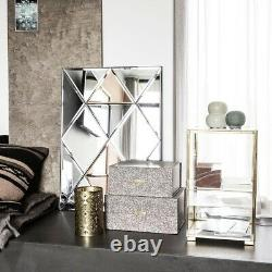 Brass & Glass Storage Cabinet With Glass Door by House Doctor