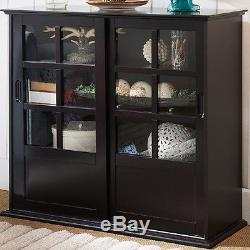 Living Room Cabinets With Sliding Doors