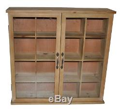 Cheungs Wood Storage Accent Cabinet with Glass Doors