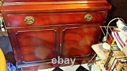 DUNCAN PHYFE DREXEL TRAVIS COURT Mahogany CHINA CABINET 1963-LOCAL PICKUP ONLY