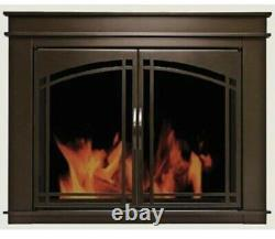 Fireplace Glass Doors Residential Retreat Farnsworth Oil Rubbed Bronze Finish