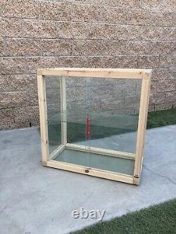 IKEA x VIRGIL ABLOH Glass-Door Cabinet Pine Display Case MARKERAD Off White Art