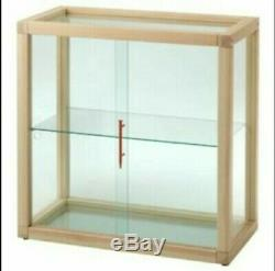 MARKERAD x IKEA Glass-door cabinet by Virgil Abloh OFF-White