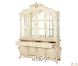 Michael Amini Lavelle Glass Doors And Wooden Framed China Cabinet by AICO