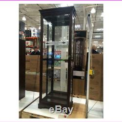 Pulaski Gallery Curio Cabinet Sliding Door Display
