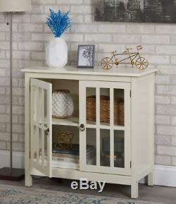 Small Buffet Table Cabinet Storage Cabinet Glass Doors Small Sideboard Table
