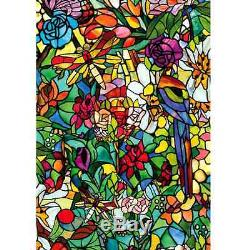 Stained Gl Window Film Shower Door Cabinet Privacy Filters Light Home Decor