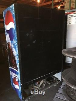 TRUE GDM-45 SLIDING GLASS 2 DOOR COOLER REFRIGERATOR CABINET, Pepsi Cola