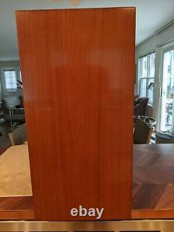 Two (2) George Nelson For Herman Miller Cabinets WithSliding Glass Door Model 4630